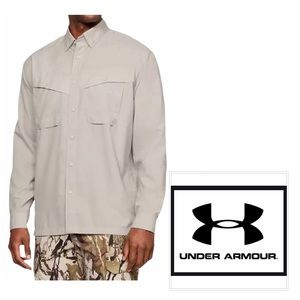 🆕UNDER ARMOUR Tide Chaser Fishing Shirt
